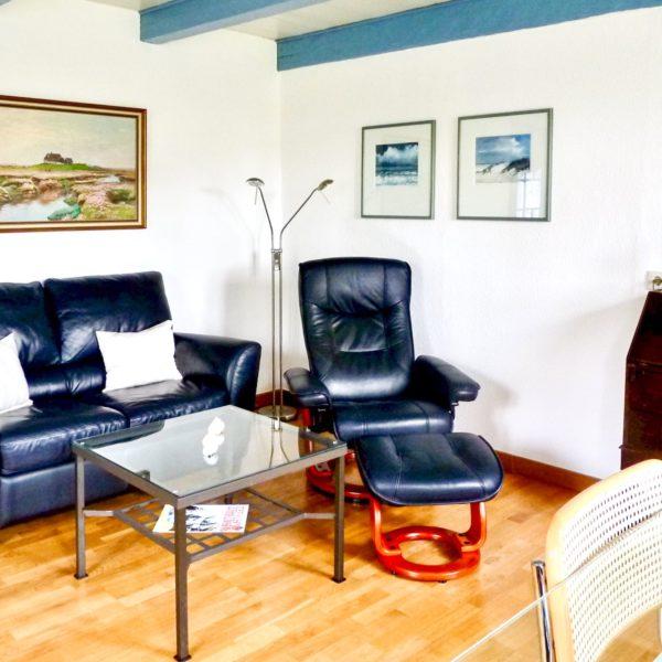 Wohnzimmer im Friesenhaus Steenodde