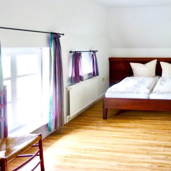 Schlafzimmer im Friesenhaus Steenodde