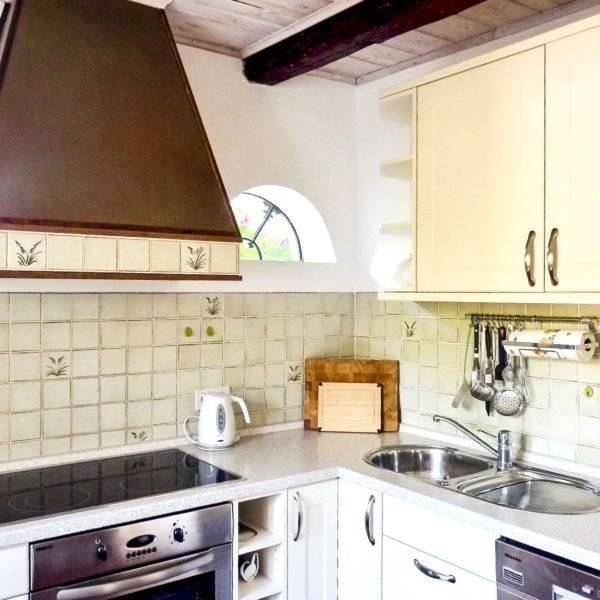 Küche im Friesenhaus Steenodde